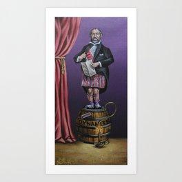 Haunted Mansion Portrait: Dynomite Art Print