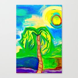 Another sunny day in Florida Canvas Print