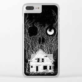 Horror house Clear iPhone Case