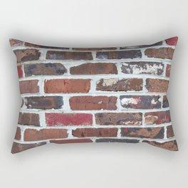 Brick Wall Vertical Rectangular Pillow