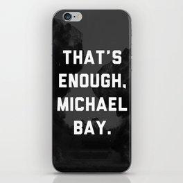 Bayhem  iPhone Skin