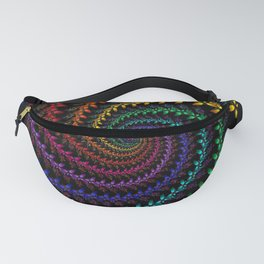 Rainbow Spin Fanny Pack