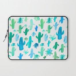 Live Simply Cactus Laptop Sleeve