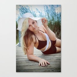 Summer On The Dock Canvas Print