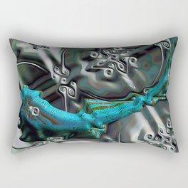 Gnarly Fish Rectangular Pillow