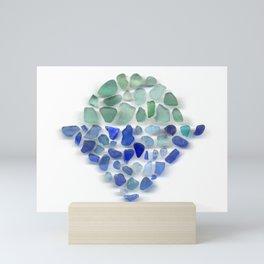 Sea glass - Sunrise Mini Art Print