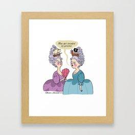 Pirated Framed Art Print