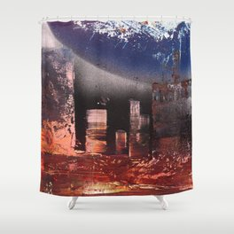 Small Space 17 Shower Curtain