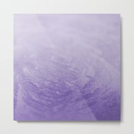 Grape Frost Metal Print