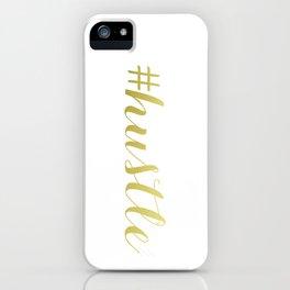 #hustle  iPhone Case