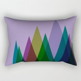 There's Home in Darkness Rectangular Pillow