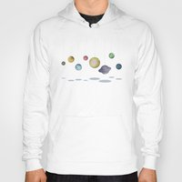 solar system Hoodies featuring The Solar System by J Arell
