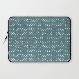 Arrows on Horizon Blue Laptop Sleeve