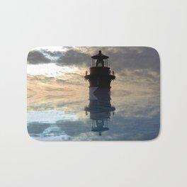 Lighthouse in the Sky Bath Mat