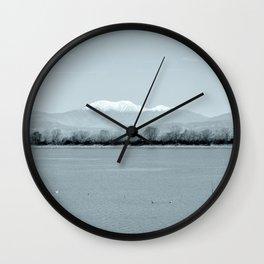 Lakescape Wall Clock