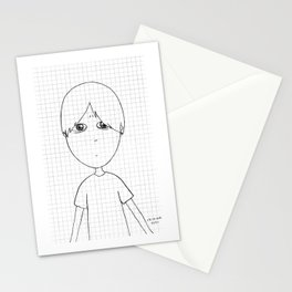 My imaginary friend_019 Stationery Cards