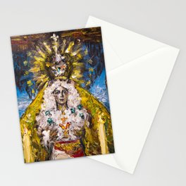 The Virgin of Hope of Macarena Stationery Cards
