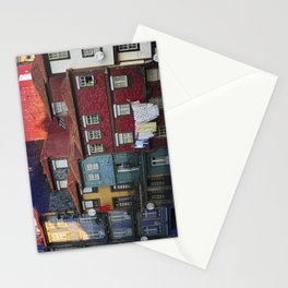 Colorful houses. Porto, Portugal. Stationery Cards