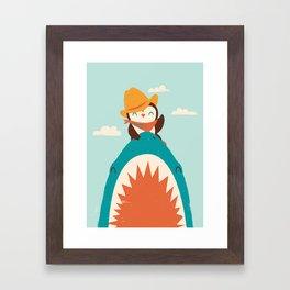 Yeehaw! Framed Art Print
