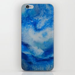 And the Heavens Opened up for Michael iPhone Skin