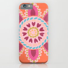 Suzani inspired floral 1 iPhone 6s Slim Case
