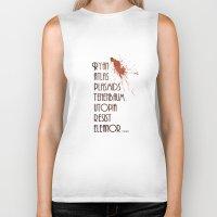 bioshock Biker Tanks featuring Bioshock - This is Rapture by Art of Peach