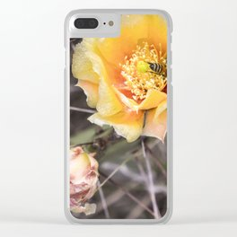 Opuntia Clear iPhone Case