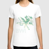 50s T-shirts featuring Baltimore-Washington (BWI) - 50s by Kyle Rodgers