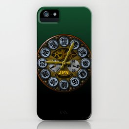 JPN clock iPhone Case