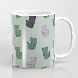 Seventies Armchair Pattern - Version 3 #society6 #seventies Coffee Mug