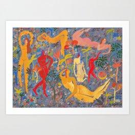 Midnight Magic Art Print