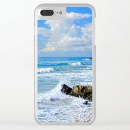 Corfu Island Greece Clear iPhone Case