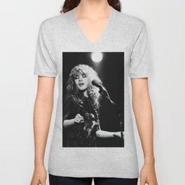 Stevie Nicks Music Poster Unisex V-Neck