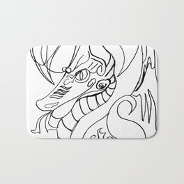 Sea horse Bath Mat