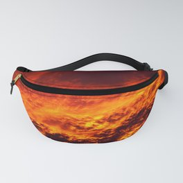 Waking Up To The Sky On Fire Fanny Pack