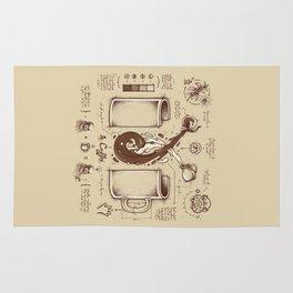 Le Coffee (Fluid of Creativity) Rug