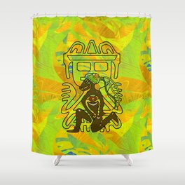 Jungle JUJU Shower Curtain