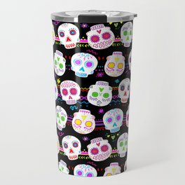 Day of the Dead Sugar Skulls Travel Mug