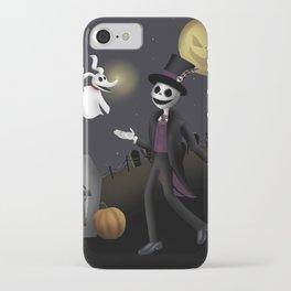 Skeletons Best Friend  iPhone Case