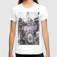 feminist T-shirts featuring FEMINIST  by L. Jamie