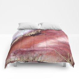 Palm Collar Closeup Comforters