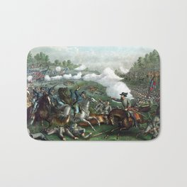 The Battle of Winchester Bath Mat