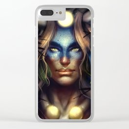 Horned One Clear iPhone Case
