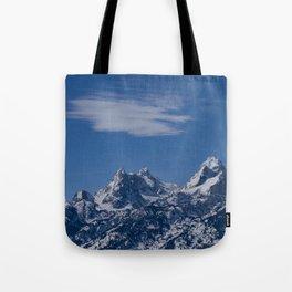 Teton Range 0221 - Wyoming Tote Bag