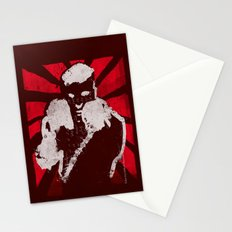 posing boxer Stationery Cards