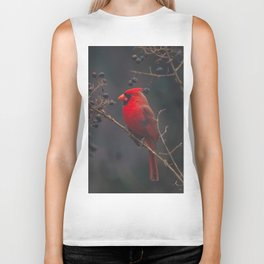 The Northern Cardinal Biker Tank