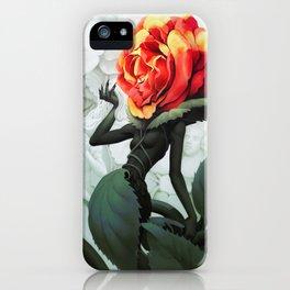 Alice in Wonderland Rose iPhone Case