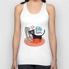 Kitty Love Unisex Tank Top