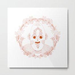 The Circle of Self Portrait Metal Print
