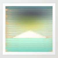 northern lights Art Prints featuring Northern Lights by Tammy Kushnir